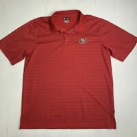San Francisco 49ers Shirt Mens Size XL NFL Football Team Apparel Collared Polo