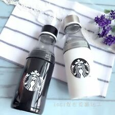 Starbucks 2017 China Summer White Or Black Siren Logo Water Bottle Cup 500ml 1pc