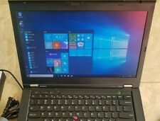 "Lenovo ThinkPad T430 laptop Core i5 14"" HD Screen DVDRW 4GB 250GB HDD Windows 10"