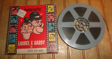 "Atlas Films Reg 8mm 200' Reel Movie ""Our Wife"" Laurel and Hardy"