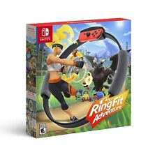 New Ring Fit Adventure - Standard Edition (Nintendo Switch, 2019) Complete