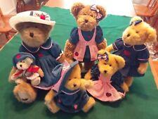 Boyd's Bears - Strawberry themed plush bears