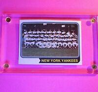 1974 TOPPS BASEBALL #363 NEW YORK YANKEES TEAM  EX-MT ExMt