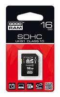 Micro SD Karte 16GB SDHC Memory Card  Speicherkarte CLASS 10 UHS-1 + Adapter