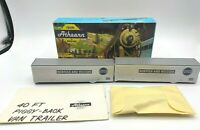 Athearn HO Norfolk & Western 5154 40' Piggy Back Van Box of 2