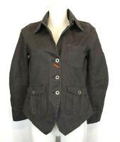 40) WRANGLER Blue Bella Jeans Jacke Gr.XS 34 Worker Jacket Neu Faded Black