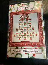 "Christmas tree quilting pattern ""Tree Bells� by Coach House Designs"