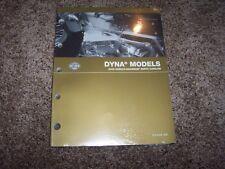 2005 Harley Davidson Dyna Wide Super Glide Street Bob Parts Catalog Manual Book