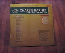 SEALED: ON STAGE WITH CHARLIE BARNET AND HIS ORCHESTRA – Bright Orange X-BO-719