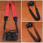 DSLR Canon Nikon Sony Camera Shoulder Strap Neck Belt Hand Grip Genuine Leather