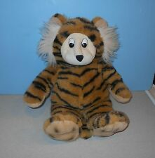 "Kids of America 16"" Dimple Face Tiger Cat Stuffed Plush Animal w/ Furry Ears"