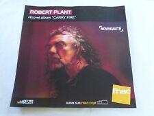 ROBERT PLANT - CARRY FIRE !!!!!!!!!!!!!PLV 30 X 30 CM !!!!!!!!!