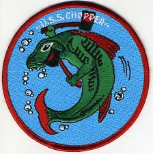 USS Chopper SS 342 - Green Fish BC Patch Cat No c5708
