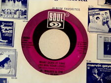 JR WALKER~WHAT DOES IT TAKE TO WIN YOUR LOVE~NEAR MINT~SOUL 35062~~ SOUL 45