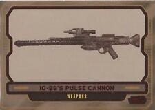 """Star Wars Galactic Files 2 - #626 Red Parallel Card """"IG-88's Cannon"""" #22/35"""