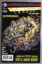 JUSTICE LEAGUE #26 AARON KUDER VARIANT COVER - DC COMICS NEW 52 - 1/25