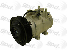 100% NEW GLOBAL PARTS AC COMPRESSOR WITH CLUTCH 6512102 ONE YEAR WARRANTY