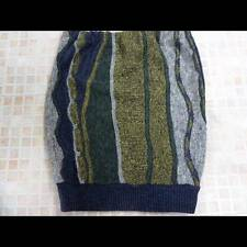 Vintage Jumper Sweater Knitted Ladies Skirt Size 2 Uk 10 Multi Grade A LB1125