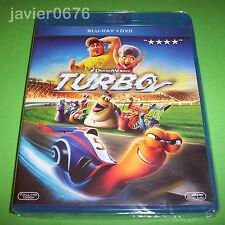 TURBO BLU-RAY+ DVD NUEVO Y PRECINTADO DREAMWORKS