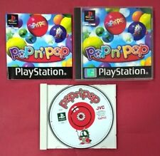 Pop'n Pop - PLAYSTATION - PSX - PS1 - USADO - EN BUEN ESTADO
