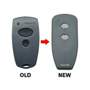 Marantec Remote 315 Control fob 2-Button Garage Door Opener transmitter