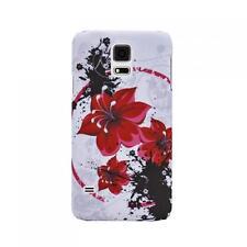 Butterfly Case Handy Tasche Samsung Galaxy S5 Mini Schutz hülle Hard Cover Etui