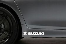 2x Side Skirt Stickers fits Suzuki LOGO Car Sticker Bodywork JDM Car Decal VK97
