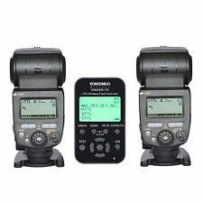 2PCS Yongnuo YN685 Flash Speedlite + YN-622-TX Wireless Controller For Nikon UK