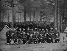 Union Army 114th Zouaves PA Infantry - Petersburg, VA - 8x10 US Civil War Photo