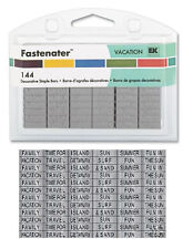 FASTENATER  144  Decorative Staple Bars  VACATION