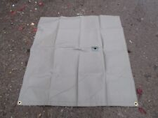 Army Military Waterproof Cover Square Sheet Fabric Camping Trailer Heavy Duty!
