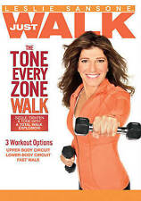 Leslie Sansone: Tone Every Zone Walk (DVD, 2015)