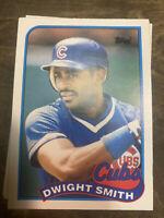 (230) Dwight Smith 1989 Rookie Topps & Fleer #113T U-79 NM-MT+ Set Breakers $$$