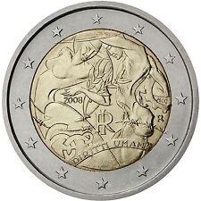 2 € Italien 2008  Menschenrechte  STG
