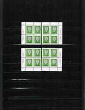 Canada 1977 17c Queen 4 Bl/4 = (Sheet 4 corners) Mnh cat #789 $7.00 Bk 500