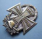 Original Scarce WW1 German KRIEGER-VERBAND and KREIS-SYKE Veterans Badge