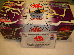 Mac Tools NHRA Thunder Valley Nationals 2001 Pontiac Funny Car 1 of 5000 RARE