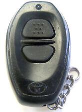 keyless remote entry car control FCC ID BAB237131-022 black key fob transmitter