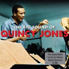 Quincy Jones - The Big Sound Of - Three Original Albums (2CD 2011) NEW/SEALED