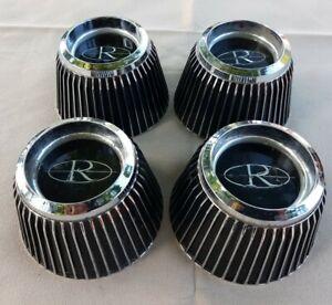 4) Buick Riviera Wildcat Wheel Center Cap Caps 1966 1967 1968 1969 1970 Hubcaps