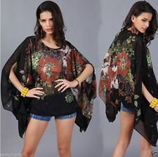 Chiffon Party Singlepack Plus Size Tops & Shirts for Women