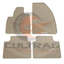 17-19 Cadillac XT5 GM Front & Rear All Weather Floor Mats Dark Titanium 84072386