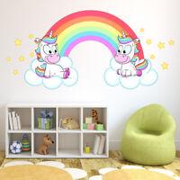 Unicorn Head Time to Believe in Magic Wall Art Sticker AS10387