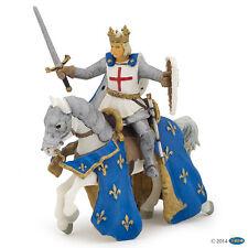 Ludwig el santo en su caballo 13 cm caballero y castillos Papo 39841