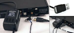 AQVOX USB Low-Noise Linear Power Supply Type-A Male to Female
