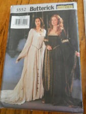 Butterick costume pattern B3552 Midieval Merlin style uncut size 12-16