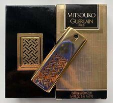 guerlain mitsouko parfum 8 ml 1/4 fl oz SPRAY GOLD CASE VINTAGE