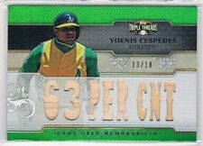 Triple Threads 2014 Season Baseball Cards