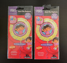 (2-PACK) Dora the Explorere Birthday Bilingual Foil Balloon English & Spanish