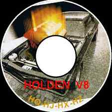 HOLDEN HQ HJ HX HZ WB KINGSWOOD PREMIER  PARTS RESTORATION ASSEMBLY BIBLE CDROM